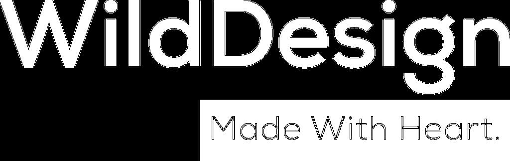 WilDesign banner in white